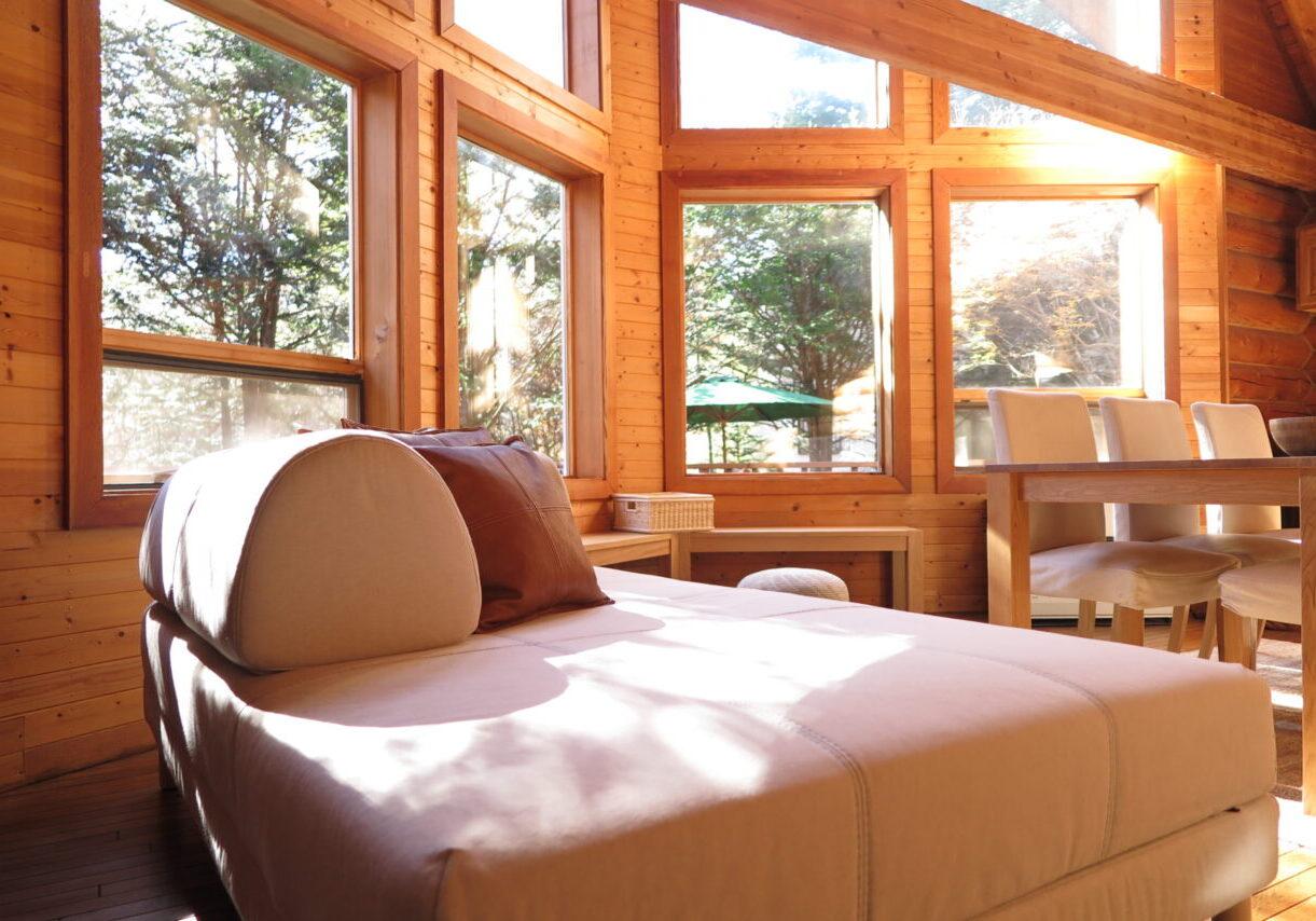 Villa Morinoya Kisshoan / 森のや 吉祥庵 自然に囲まれた貸切ログハウス